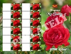 My Stamp, Roses, 2017