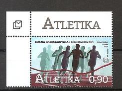 BOSNIA AND HERZEGOVINA 2016,POST MOSTAR, SPORT,,MNH