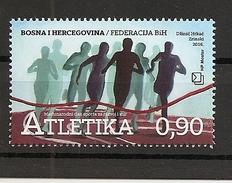 BOSNIA AND HERZEGOVINA 2016,POST MOSTAR, SPORT,,MNH - Leichtathletik