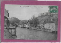 25.- La Loue à ORNANS .-  La Plante Et Le Château - France