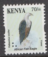 Kenya 2013  Bird Reprints 70/- Eagle Single Out Of Set (much Cheaper Than Buying Set) - Aigles & Rapaces Diurnes