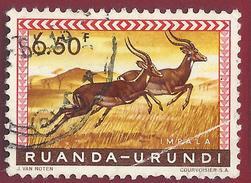 1959 - Impala (Aepyceros Melampus) - Yt:RW-U 214 - Used - Ruanda
