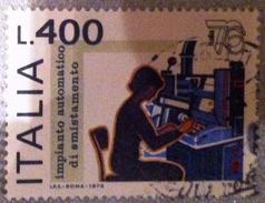 ITALIA 1976 YT 1277  Used