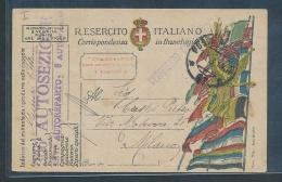 Italien Karte-   Alter Beleg      (g8490  ) Siehe Bild !
