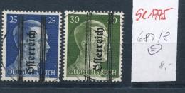 Österreich Nr.  687-8   (se1775  ) Siehe Bild !