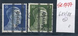Österreich Nr.  687-8   (se1777  ) Siehe Bild !