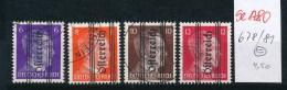 Österreich Nr.  678-81     (se1780  ) Siehe Bild !