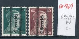 Österreich Nr.  690-91   (se1769  ) Siehe Bild !