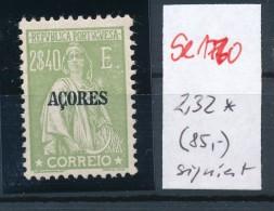 Potugal Azoren  Nr.  232   *   (se1770  ) Siehe Bild !