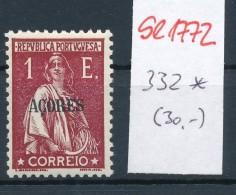 Potugal Azoren  Nr.  332   *   (se1772  ) Siehe Bild !