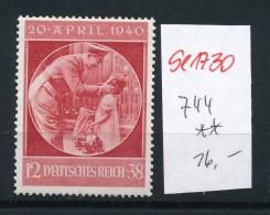D.-Reich Nr. 744    **   (se1730  ) Siehe Bild !