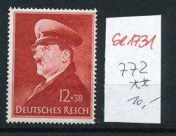 D.-Reich Nr. 772   **   (se1731  ) Siehe Bild !