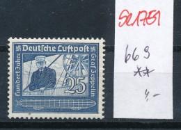 D.-Reich Nr.  669   **    (se1751  ) Siehe Bild !