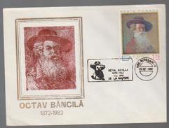 COVER PAINTING -ROMANIA  OCTAV BANCILA 1872-1982