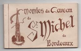 33 GIRONDE - BORDEAUX Carnet Des Momies Du Caveau De St Michel (voir Descriptif) - Bordeaux