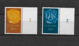 SURINAM   1970  Y.T.517-518   MNH/** - Surinam