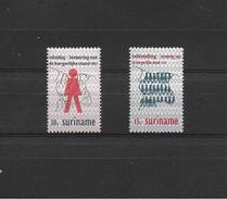 SURINAM   1971  Y.T.543-544  MNH/** - Surinam