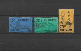 SURINAM   1971  Y.T.551-553  MNH/** - Surinam