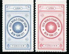 XF0692 United States 2016 New York World Exhibition 2v MNH - United States
