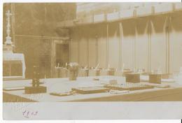 INTERNO SALA - FOTO INIZIO NOVECENTO - P.LUCCHESI -ROMA - 1903 - SCRITTA NON VIAGGIATA - Christentum