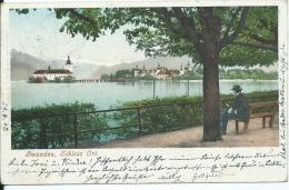 AK 0627  Gmunden - Schloss Ort / Verlag Brandt Um 1902 - Gmunden