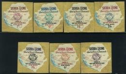 1964 Sierra Leone, Esposizione New York Posta Aerea, Serie Completa Nuova (**) - Sierra Leone (1961-...)