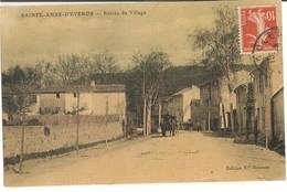 St Anned'Evenos: Entrée Du Village - Other Municipalities