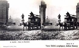# Paris  - CP Stéréoscopique - Place Du Panthéon - Estereoscópicas