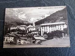 CPA - LOUËCHE Les BAINS - Loèche Les Bains Et Glacier De Dala  - 1912 - VS Valais