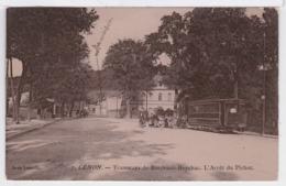 33 - Cenon - Tramways De Bordeaux-Beychac. L' Arrêt Du Pichot - Bordeaux