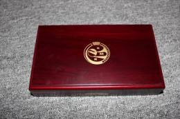 KMS Belgien 2005 In Polierter Platte Versione: Proof RAR In Holzschatulle - Belgio