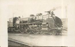 LOCOMOTIVE N°3636 PO ( Ancien Retirage Photo Format Carte Ancienne). - Trains