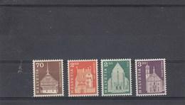 Suisse - Neuf** - Série Courante - Année 1967 - YT 795/98