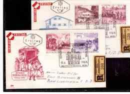 AU831   -   WIEN  20.7.64   /        FDC  XV. WELTPOSTKONGRESS  - MICHEL NR. 1156/1163 - Esposizioni Filateliche