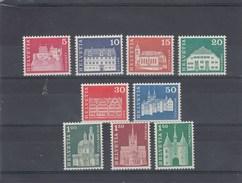 Suisse - Neuf** - Série Courante - Année 1968 - YT 815/23