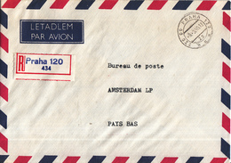 Tsjechoslowakije - Recommandé/Registered Letter/Einschreiben - Praag - Praha 120 - Czechoslovakia