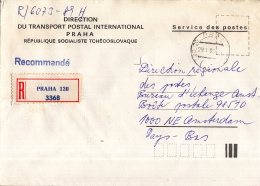 Tsjechoslowakije - Recommandé/Registered Letter/Einschreiben - Praag - Praha 120 - Altri