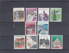 Suisse - Neuf** - Série Courante - Année 1973 - YT 933/42