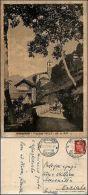 Valle, Morbegno, Sondrio, Veduta Animata Del Paese, Viaggiata 1937 - Sondrio