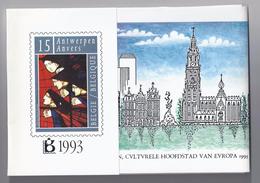 BELGIE - BELGIQUE Jaarmap - Pochette Anuelle 1993 -  ONDER UITGIFTEPRIJS - Belgique