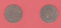 Medaille  --  Duc D Orléans   --  13  Juillet 1842  --  état  TB - Royal / Of Nobility