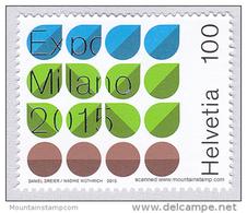 Switzerland 2015 Expo 2015 Milano MNH **