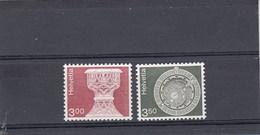 Suisse - Neuf** - Série Courante - Année 1979/80 - YT 1090/91