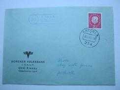 1962 , KIESBY über Kappeln, Klarer Landpoststempel Auf Brief - BRD