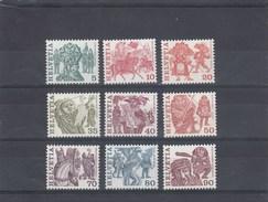Suisse - Neuf** - Série Courante - Année 1977 - YT 1033/41