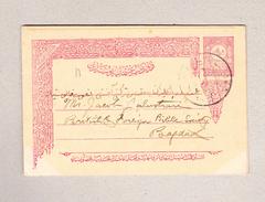 Türkei Mahmud-Pacha 1904 20paras Ganzsache Nach Bagdad