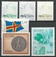 ALAND 1984 MI-NR. 1/6 ** MNH - Aland
