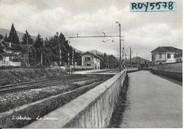 Lombardia-varese- S.andrea La Ferrovia Veduta Linea Ferroviaria S.andrea Di Cocquio - Italia