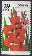 2831 Stati Uniti 1994 Fiori Flowers  Gladiola Gladiolus Gladioli Viaggiato Used USA