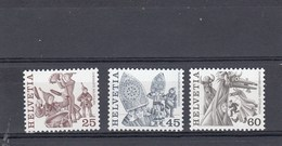 Suisse - Neuf** - Série Courante - Année 1984 - YT 1209/11